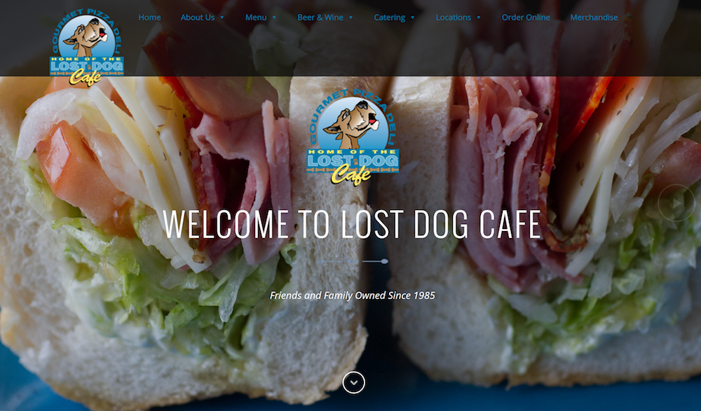 Lost Dog Café Website Redesign | Web Strategies