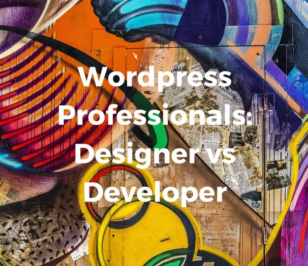 WordpressProfessionalsDesignervsDeveloper