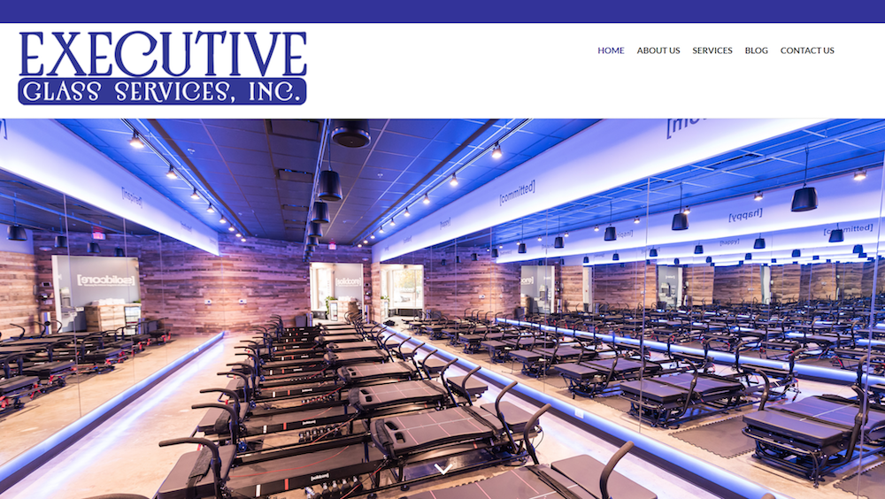We worked with Executive Glass to develop a site that would showcase the quality of their work & great photography they had done for their recent projects.