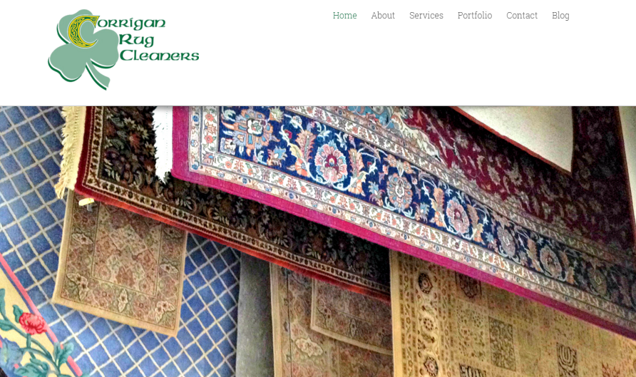 We worked with Corrigan Rug Cleaners to build a fully responsive, search engine optimized WordPress site while maintaining their existing branding and services.