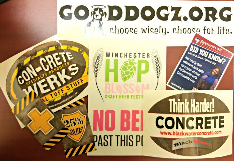 Custom Logo Stickers Custom Vinyl Decals - Promotional custom vinyl stickers business