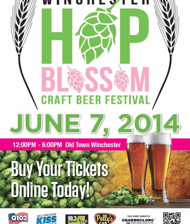 Hop Blossom Poster