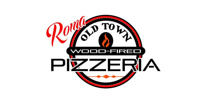 Roma Old-Town Wood Fired Pizza Logo