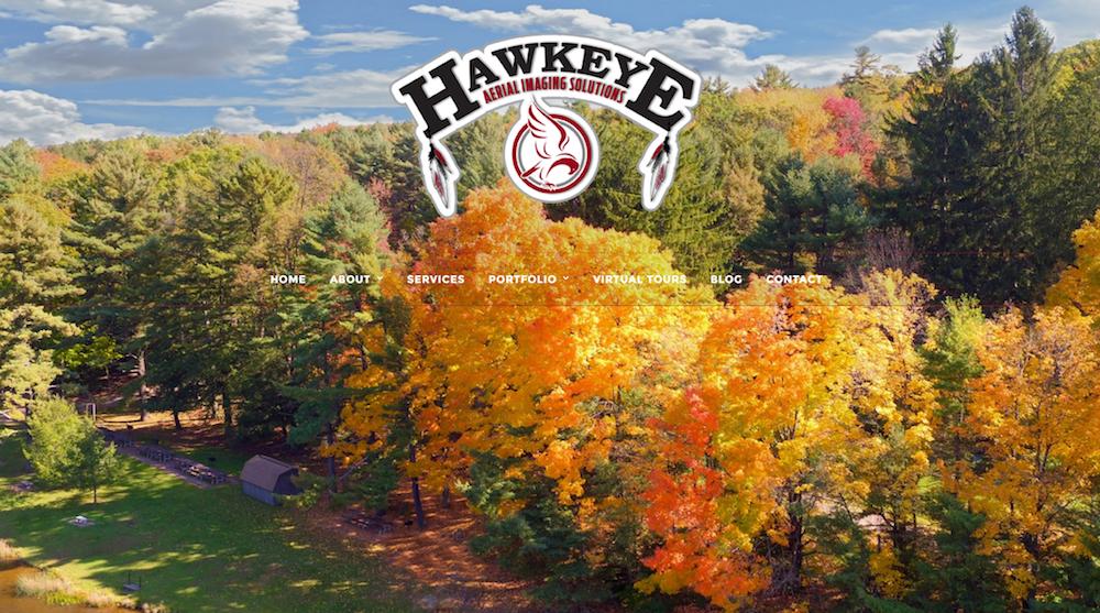 Hawkeye Aerial Imaging Website Launch