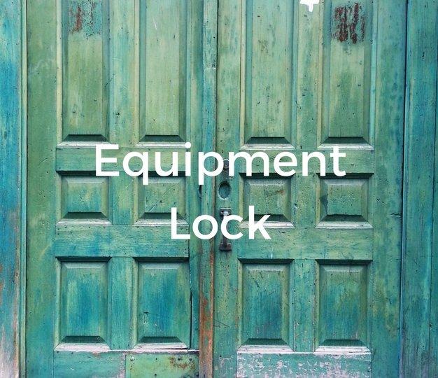Equipment Lock