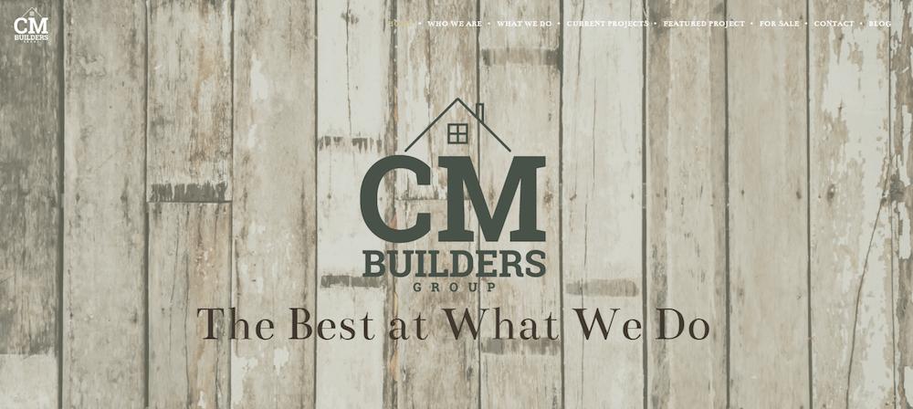 CM Builders Group | Website Design | Web Strategies