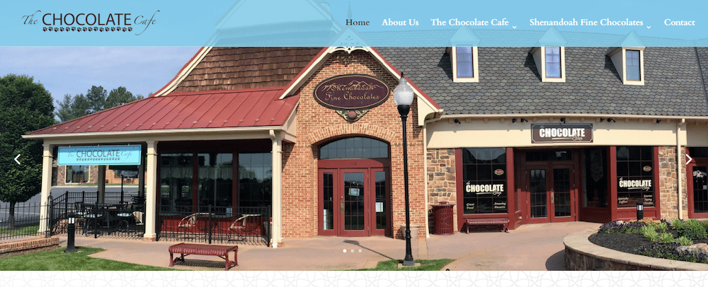 The Chocolate Cafe Website Launch | Web Strategies