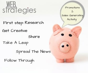Planning out Promotions and Sale Generating Activity