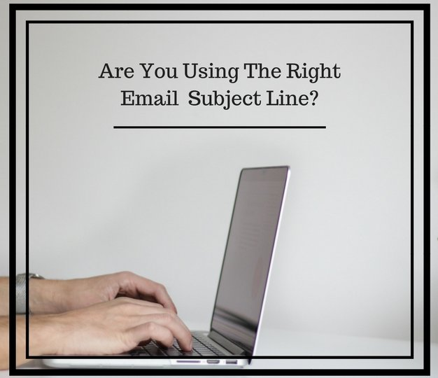Are You Using The Right Subject Line