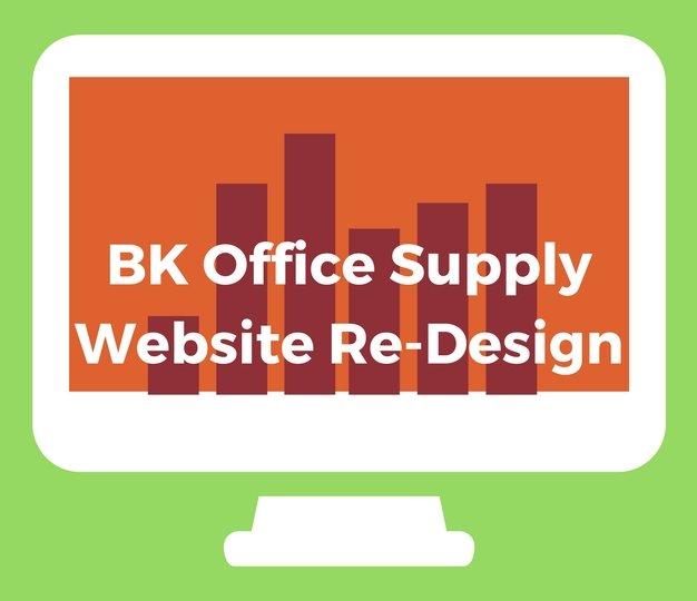 BKOfficeSupplyWebsit ReDesign