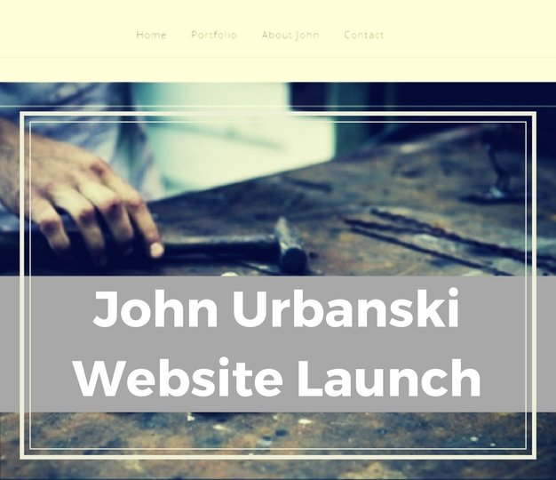 JohnUrbanskiWebsiteLaunch