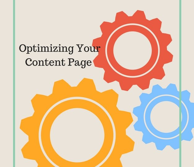 Optimizing Your Content Page