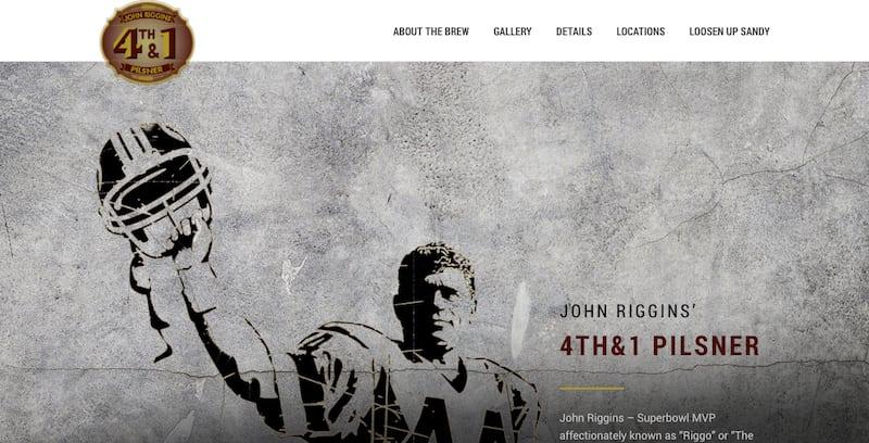 John Riggins 4TH & 1 Pilsner