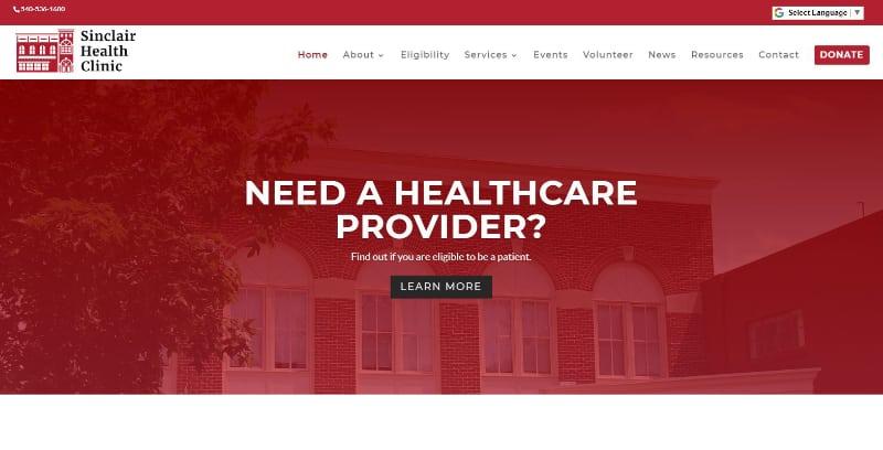 Sinclair Health Clinic