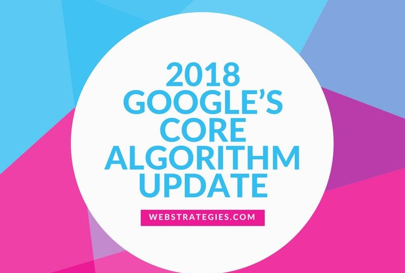 GOOGLE'S CORE ALGORITHUM UPDATE1