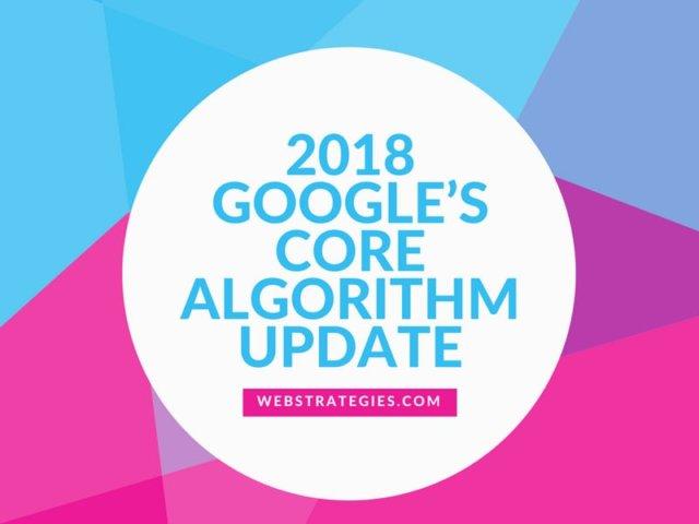 GOOGLE'S CORE ALGORITHUM UPDATE1