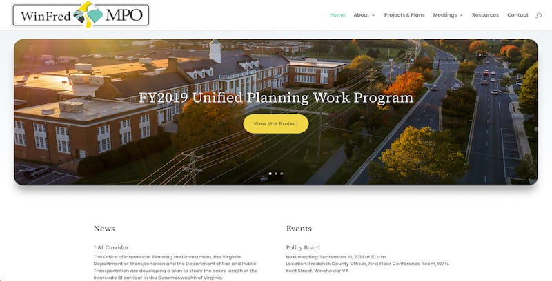 Winchester-Frederick County Metropolitan Planning Organization (WinFred MPO)