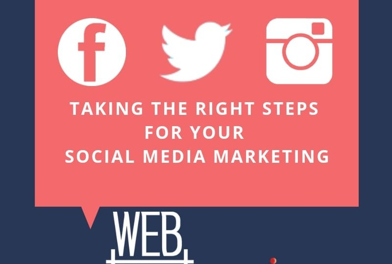 Taking the Right Steps for Your Social Media Marketing