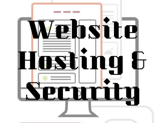 website hosting and security