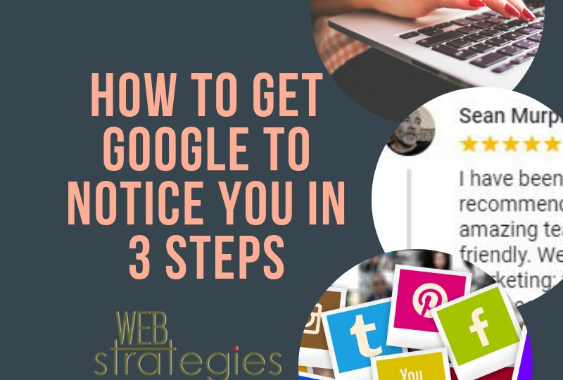 how to get google to noitce you