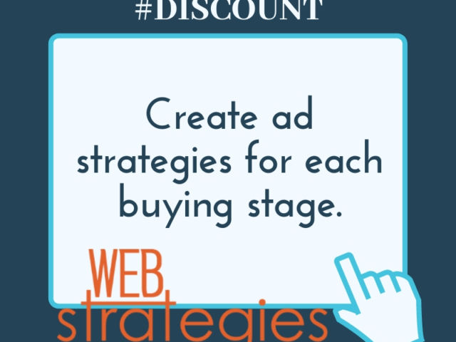 Create Ad Strategies For Each Stage Buying Stage.