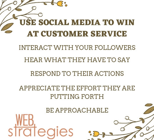 USE SOCIAL MEDIA TO WIN AT CUSTOMER SERVICE