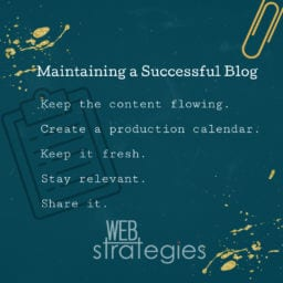 Maintaining A Successful Blog