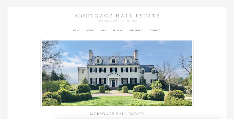 Mortgage Hall Estate