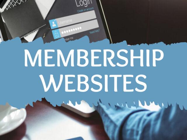 Membership Websites2