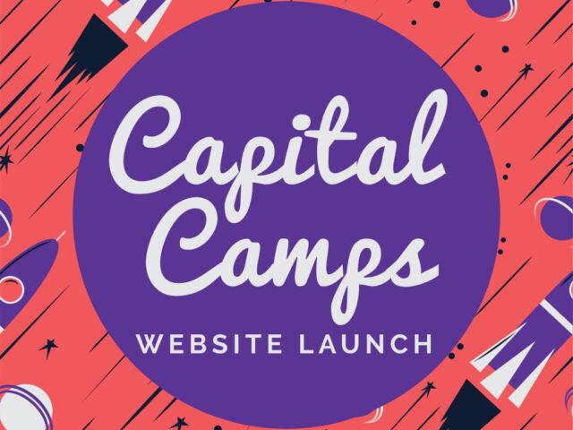 CapitalCamps WebsiteLaunch