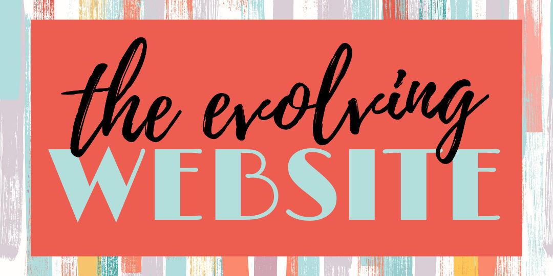 Evolving Website2