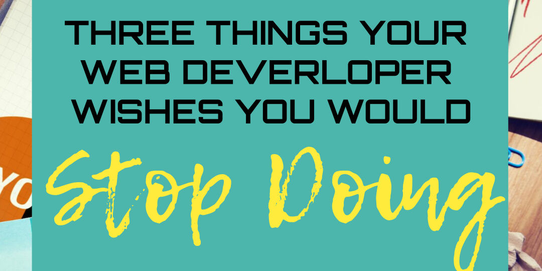3thingsstopdoing